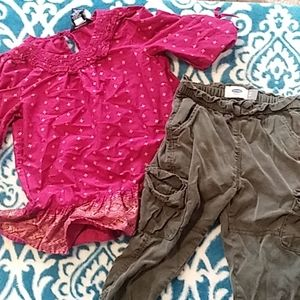 Size 4t cute spring outfit